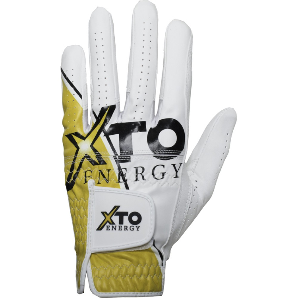 Logo Imrinted Glove Branders Cabretta Leather Golf Glove
