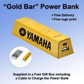 """Gold Bar"" Power Bank 2600 mAh"