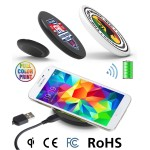 Fast Wireless Charger 10w - Qi Certified - Full Color Print
