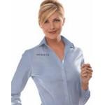 Custom Printed Women's Eagle Non-Iron Pinpoint Dress Shirt