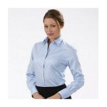 Custom Embroidered Women's Van Heusen Non-Iron Pinpoint Dress Shirt