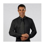 Custom Printed Men's Calvin Klein Cotton Stretch Solid Dress Shirt