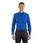 Men's Van Heusen Long Sleeve Dress Twill Shirt Custom Embroidered