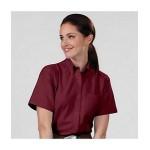 Women's Van Heusen Short Sleeve Dress Shirt Custom Printed