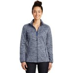 Custom Embroidered Sport-Tek Ladies' PosiCharge Electric Heather Soft Shell Jacket