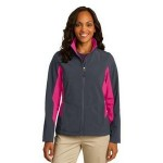 Port Authority Ladies' Core Colorblock Soft Shell Jacket Custom Printed