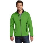 Custom Printed Eddie Bauer Men's Weather-Resist Soft Shell Jacket