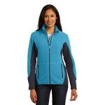 Port Authority Ladies' R-Tek Pro Fleece Full-Zip Jacket Custom Embroidered