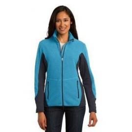 Logo Imprinted Port Authority Ladies' R-Tek Pro Fleece Full-Zip Jacket