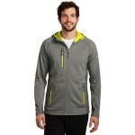 Eddie Bauer Men's Sport Hooded Full-Zip Fleece Jacket Custom Printed