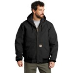 Logo Imprinted Carhartt Tall Quilted-Flannel-Lined Duck Active Jacket