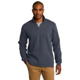 Port Authority Slub Fleece 1/4-Zip Pullover Custom Printed
