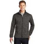 Custom Embroidered Sport-Tek Men's PosiCharge Electric Heather Soft Shell Jacket