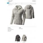 Columbia Women's Chillin Fleece Full-Zip Hooded Jacket - Blank Logo Imprinted