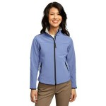 Port Authority Ladies' Glacier Soft Shell Jacket Logo Imprinted