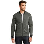 New Era Men's French Terry Baseball Full-Zip Jacket Logo Imprinted