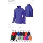 Custom Embroidered Columbia Women's Give and Go Full Zip Fleece Jacket - Blank