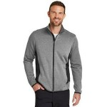 Eddie Bauer Full-Zip Heather Stretch Fleece Jacket Custom Printed