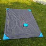 Multi-functional Picnic Blanket/Raincoat Custom Embroidered