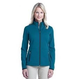 Custom Printed Port Authority Ladies' Pique Fleece Jacket