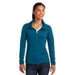Sport-Tek Ladies' Sport-Wick Stretch Full-Zip Jacket Custom Embroidered