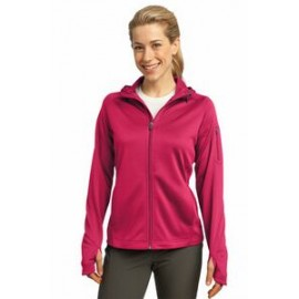 Sport-Tek Ladies' Tech Fleece Full-Zip Hooded Jacket Custom Printed