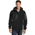 Custom Embroidered Port Authority Men's Tall Waterproof Soft Shell Jacket