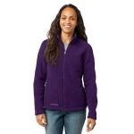 Custom Printed Eddie Bauer Ladies' Full-Zip Fleece Jacket