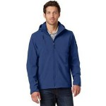 Logo Imprinted Eddie Bauer Men's Hooded Soft Shell Parka Jacket