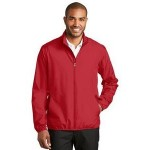 Port Authority Men's Zephyr Windwear Full-Zip Jacket Custom Printed