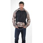 Custom Embroidered Pull over hooded sweatshirt made with Licence Kings Camo