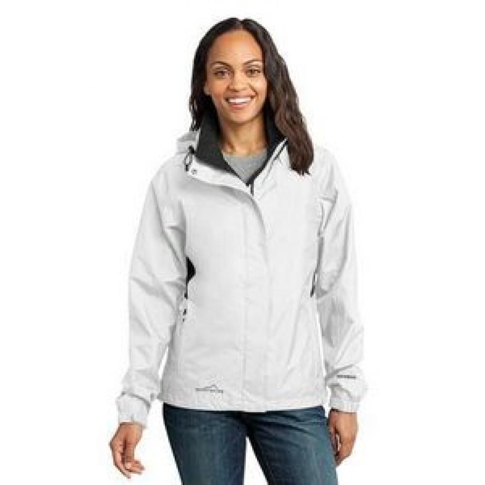 Custom Printed Eddie Bauer Ladies Rain Jacket