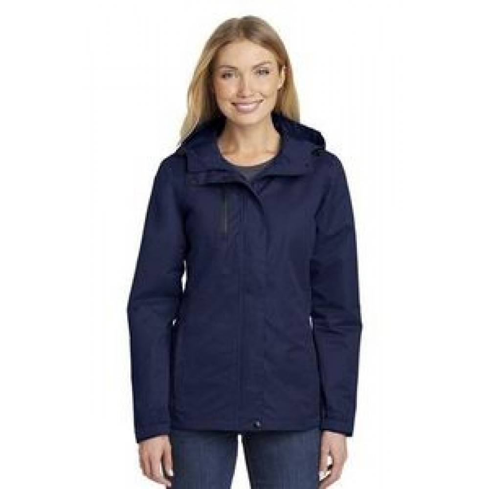 Port Authority Ladies All-Conditions Jacket Logo Imprinted