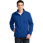 Custom Printed Port Authority Men's Value Fleece Jacket