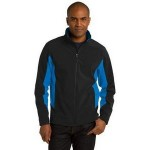 Port Authority Men's Core Colorblock Soft Shell Jacket Custom Embroidered