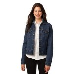 Logo Imprinted Port Authority Ladies' Denim Jacket