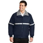 Port Authority Men's Challenger Jacket w/Reflective Taping Logo Imprinted