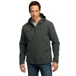 Port Authority Men's Textured Hooded Soft Shell Jacket Custom Embroidered