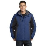 Custom Embroidered Port Authority Men's Colorblock 3-in-1 Jacket