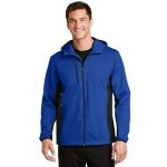 Port Authority Men's Active Hooded Soft Shell Jacket Custom Embroidered