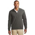 Custom Imprinted Port Authority Men's Interlock 1/4-Zip Sweater