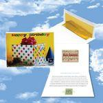 Logo Branded Cloud Nine Birthday Music Download Greeting Card / Happy Birthday & Party Time Albums