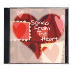 Custom Imprinted Songs From The Heart Music CD