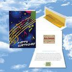 Cloud Nine Birthday Music Download Greeting Card / Happy Birthday & Party Time Logo Branded