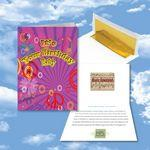 Custom Imprinted Cloud Nine Birthday Music Download Greeting Card w/ It's Your Birthday Baby