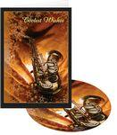 Logo Branded Coolest Wishes Sax & Snow Holiday Greeting Card with Matching CD