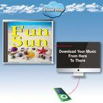 Custom Imprinted Cloud Nine Acclaim Greeting with Music Download Card - TD61 Fun in the Sun V1 & V2