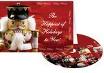 Nutcracker Happy Holidays Greeting Card with Matching CD Custom Printed