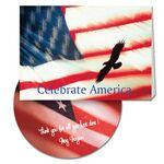 Custom Imprinted Celebrate America Greeting Card with Matching CD