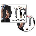 Crazy 'Bout You Greeting Card with Matching CD Logo Branded